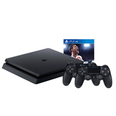 Gaming console Sony PlayStation 4 Slim (1 TB) + DualShock 4 and FIFA 18