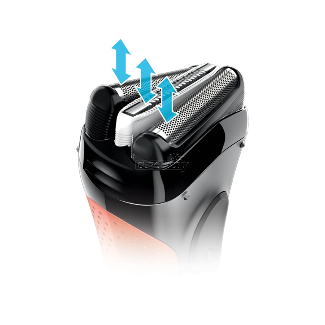 Shaver Series 3 ProSkin + nose and ear trimmer, Braun
