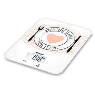Digital kitchen scale KS 19 Love, Beurer KS19LOVE