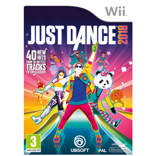 Wii mäng Just Dance 2018