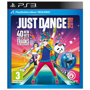 PS3 mäng Just Dance 2018