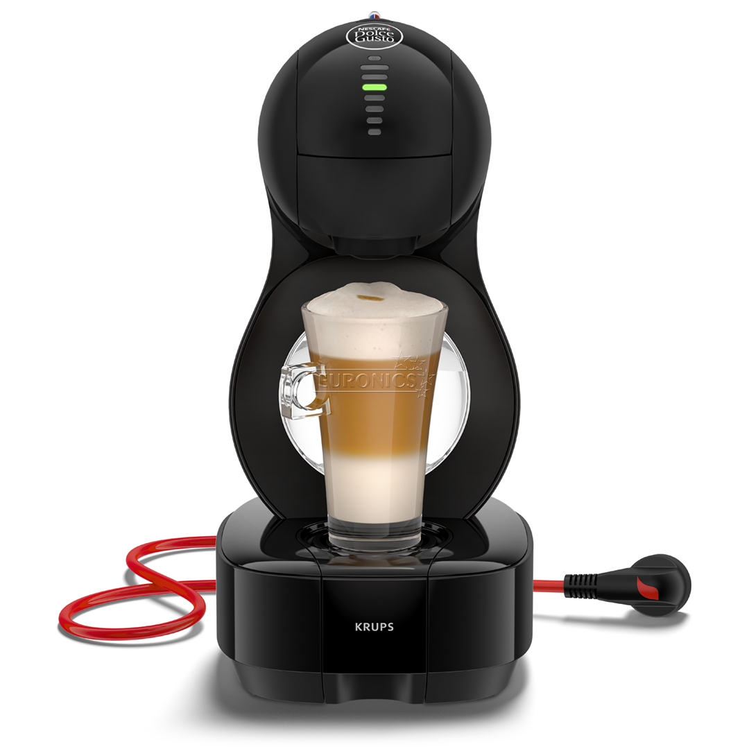capsule coffee machine nescafe dolce gusto lumio krups kp1308. Black Bedroom Furniture Sets. Home Design Ideas