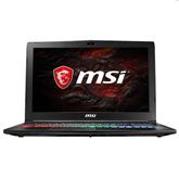 Sülearvuti MSI GP62M Leopard