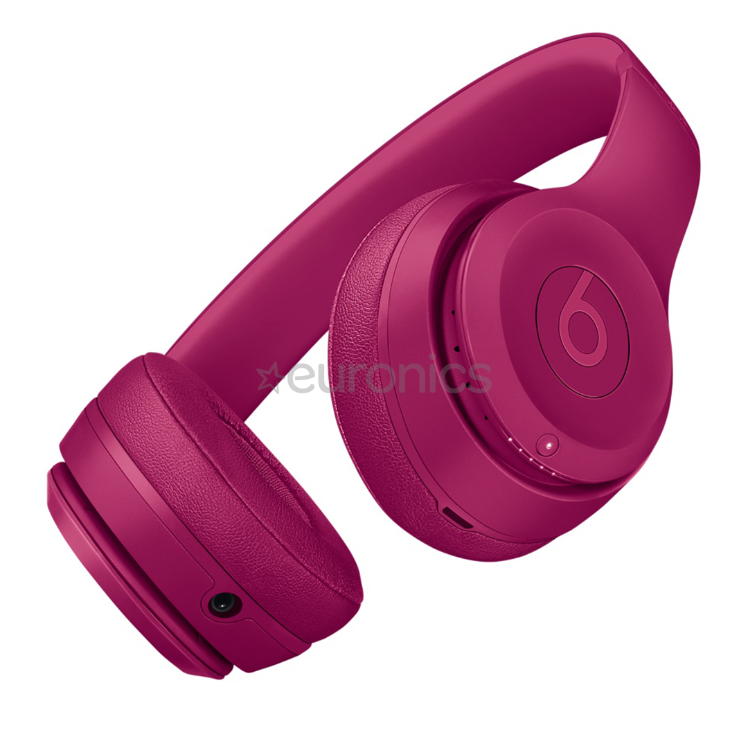 Beats by Dr Dre Solo3 Wireless Headphones in black let you listen to your favorite music without any cords Buy now at applecom