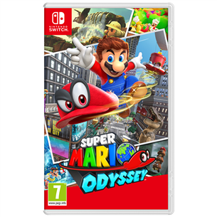 Switch game Super Mario Odyssey 045496420932