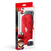 Switchi kandekott ja ekraanikaitse Nintendo Super Mario Odyssey Edition