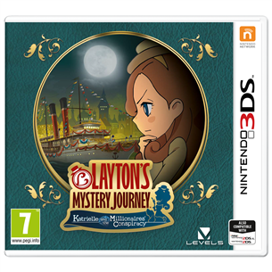 3DS game Laytons Mystery Journey