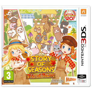 3DS mäng Story of Seasons: Trio of Towns