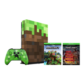 Gaming console Microsoft Xbox One S (1 TB) Minecraft Edition