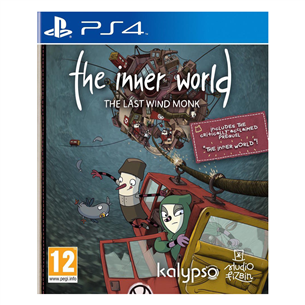 PS4 mäng The Inner World - The Last Wind Monk