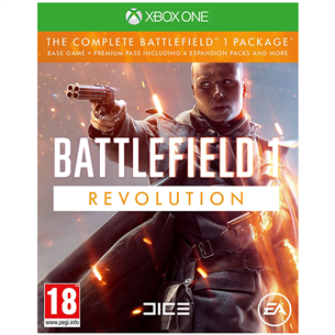 Xbox One mäng Battlefield 1 Revolution