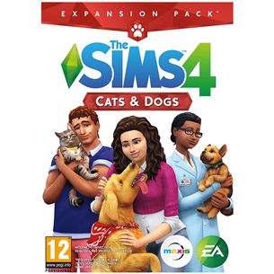 PC game The Sims 4: Cats and Dogs 5035228122567
