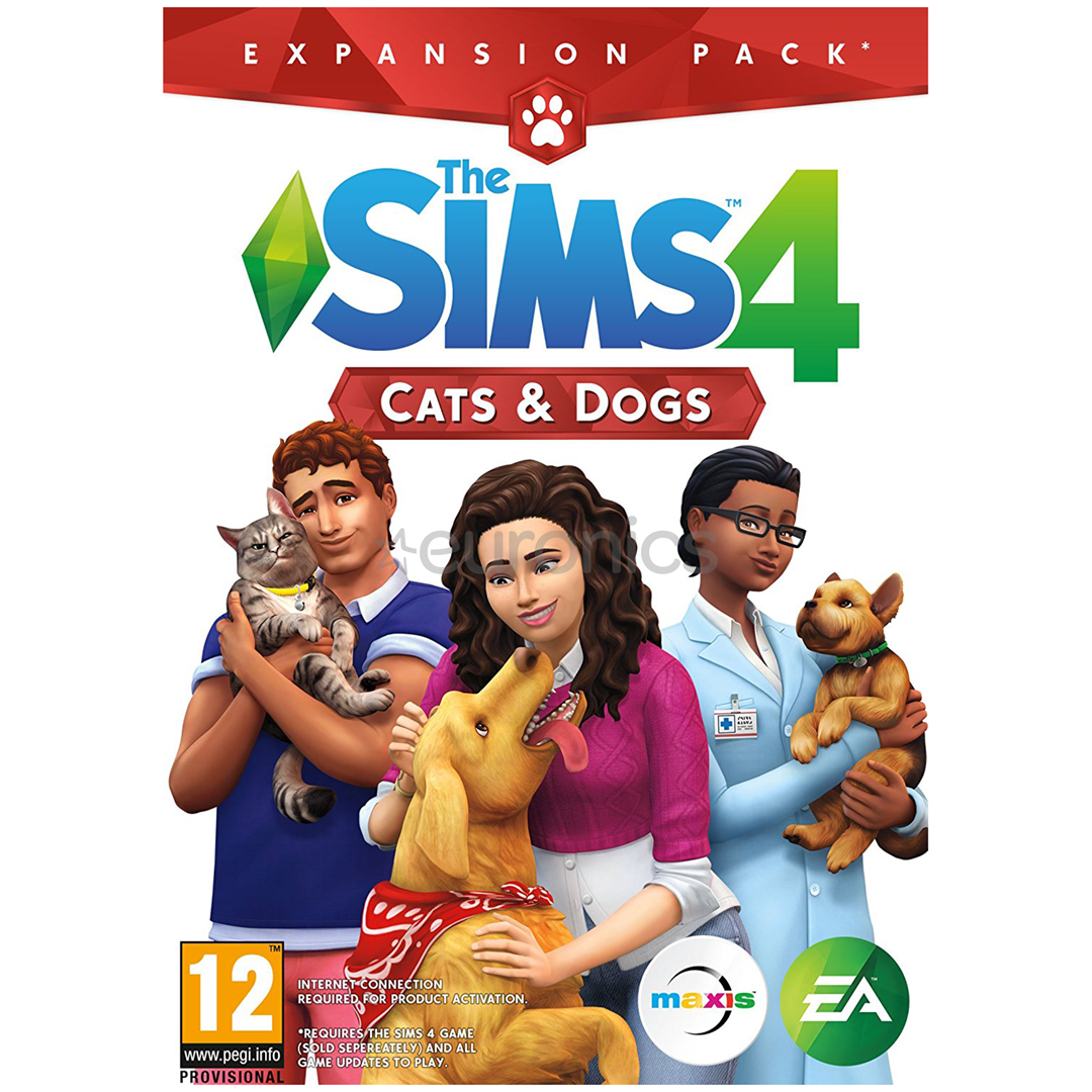 PC game The Sims 4: Cats and Dogs, 5035228122567