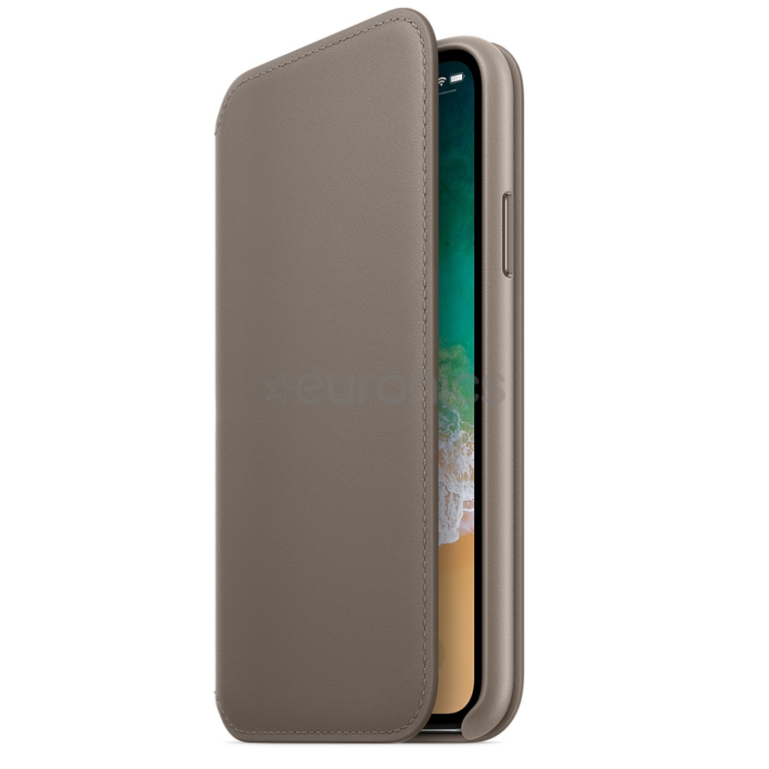 best service 1ab0c 189e7 iPhone X leather folio Apple