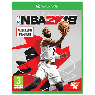 Xbox One mäng NBA 2K18