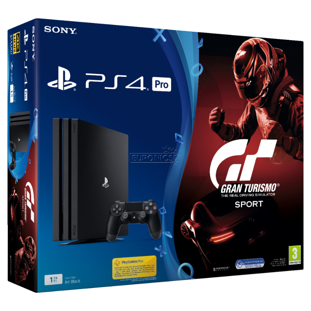 gaming console sony playstation 4 pro gran turismo sport. Black Bedroom Furniture Sets. Home Design Ideas