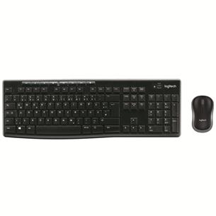 Wireless keyboard + mouse Logitech MK270 (SWE)