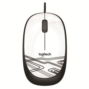 Juhtmega optiline hiir Logitech M105