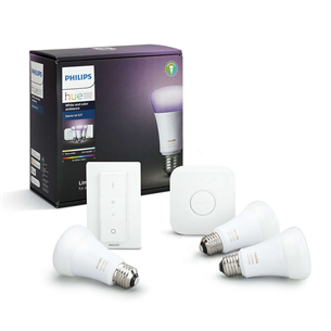 Philips Hue starter kit White and Color Ambience (E27)