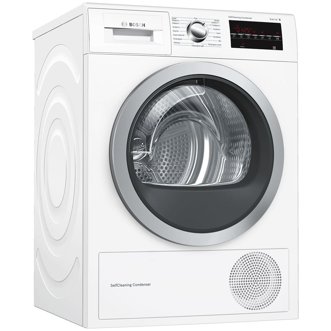 washing machine dryer bosch 8kg 8kg wat286b8sn wtw8748bs. Black Bedroom Furniture Sets. Home Design Ideas