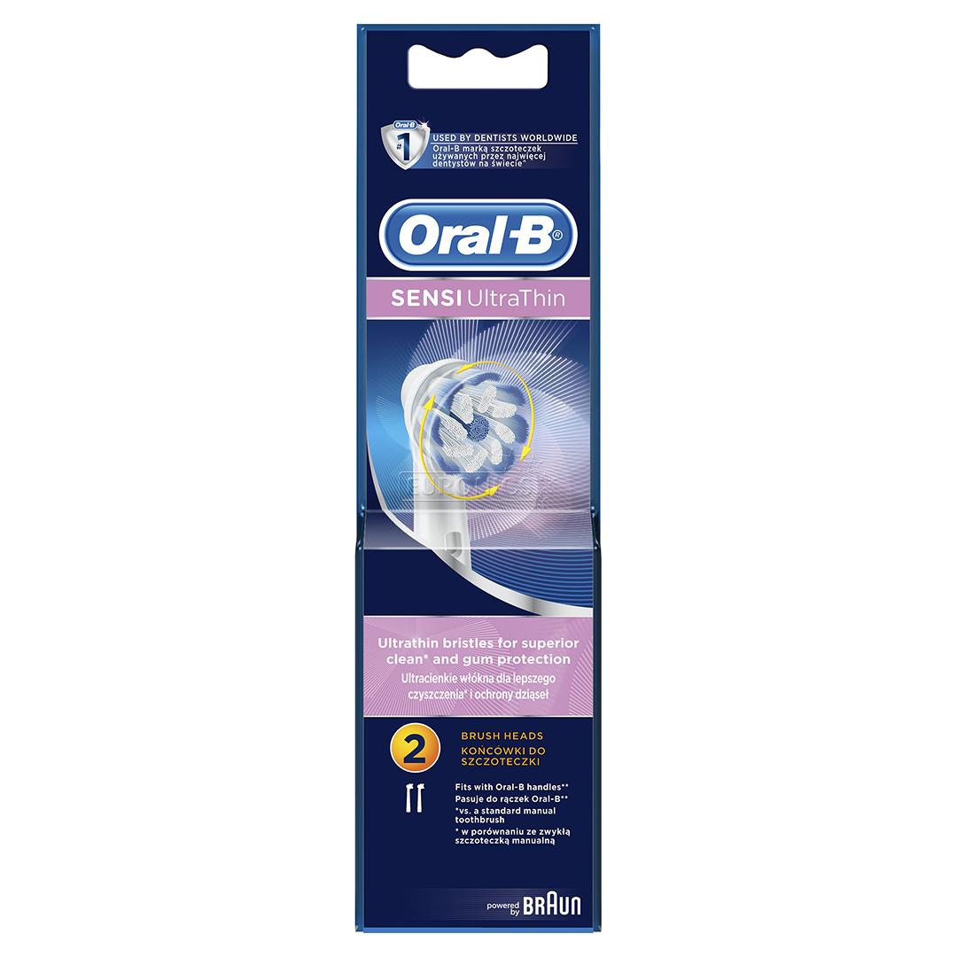 Extra Brushes Oral B Sensi Ultra Thin Braun Eb60 2