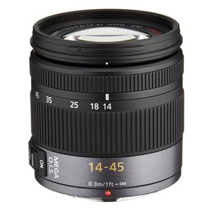 Objektiiv Panasonic Lumix G Vario 14-45 mm Mega OIS