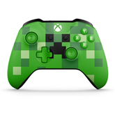 Microsoft Xbox One juhtmevaba pult Minecraft Creeper