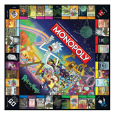 Board game Monopoly - Rick and Morty