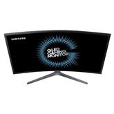 27 curved WQHD QLED  monitor Samsung