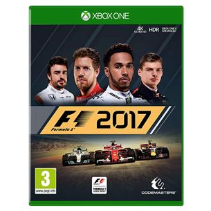 Xbox One mäng F1 2017