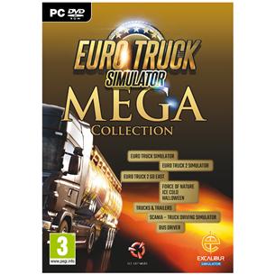 Arvutimäng Euro Truck Simulator 2 Mega Collection