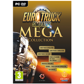 Arvutimäng Euro Truck Simulator 2 Mega Collection
