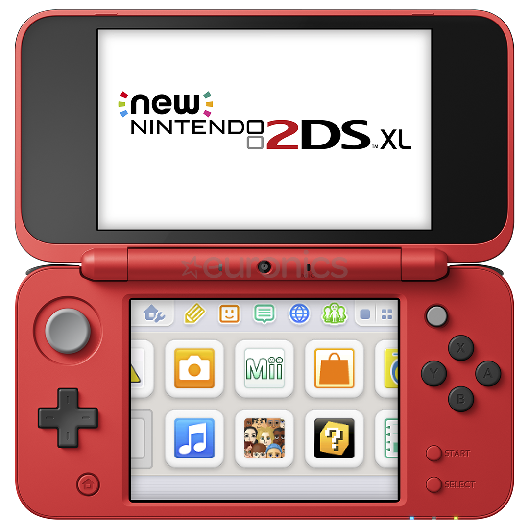 Gaming console Nintendo New 2DS XL Pokeball Edition ...
