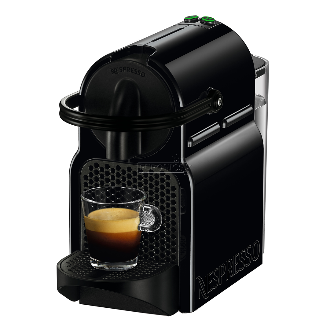 capsule coffee machine inissia nespresso d40 eu bk ne