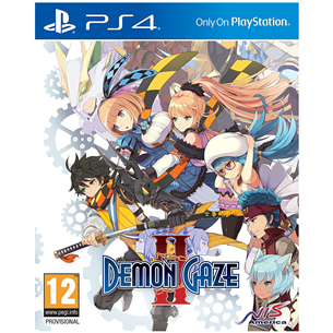 PS4 mäng Demon Gaze 2