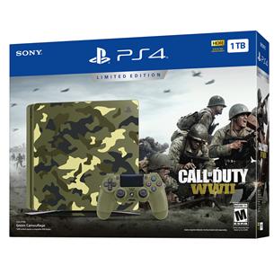 Mängukonsool Sony PlayStation 4 Slim CoD WWII Limited Edition (1 TB)