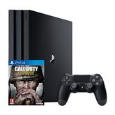 Mängukonsool Sony PlayStation 4 Pro + Call of Duty: WWII