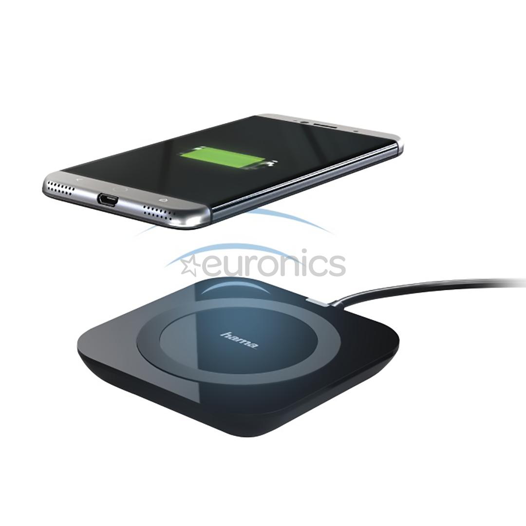 wireless charger qi basic pro hama 00178220. Black Bedroom Furniture Sets. Home Design Ideas