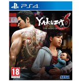 PS4 mäng Yakuza 6: The Song of Life