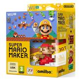 Wii U mäng Super Mario Maker + Amiibo