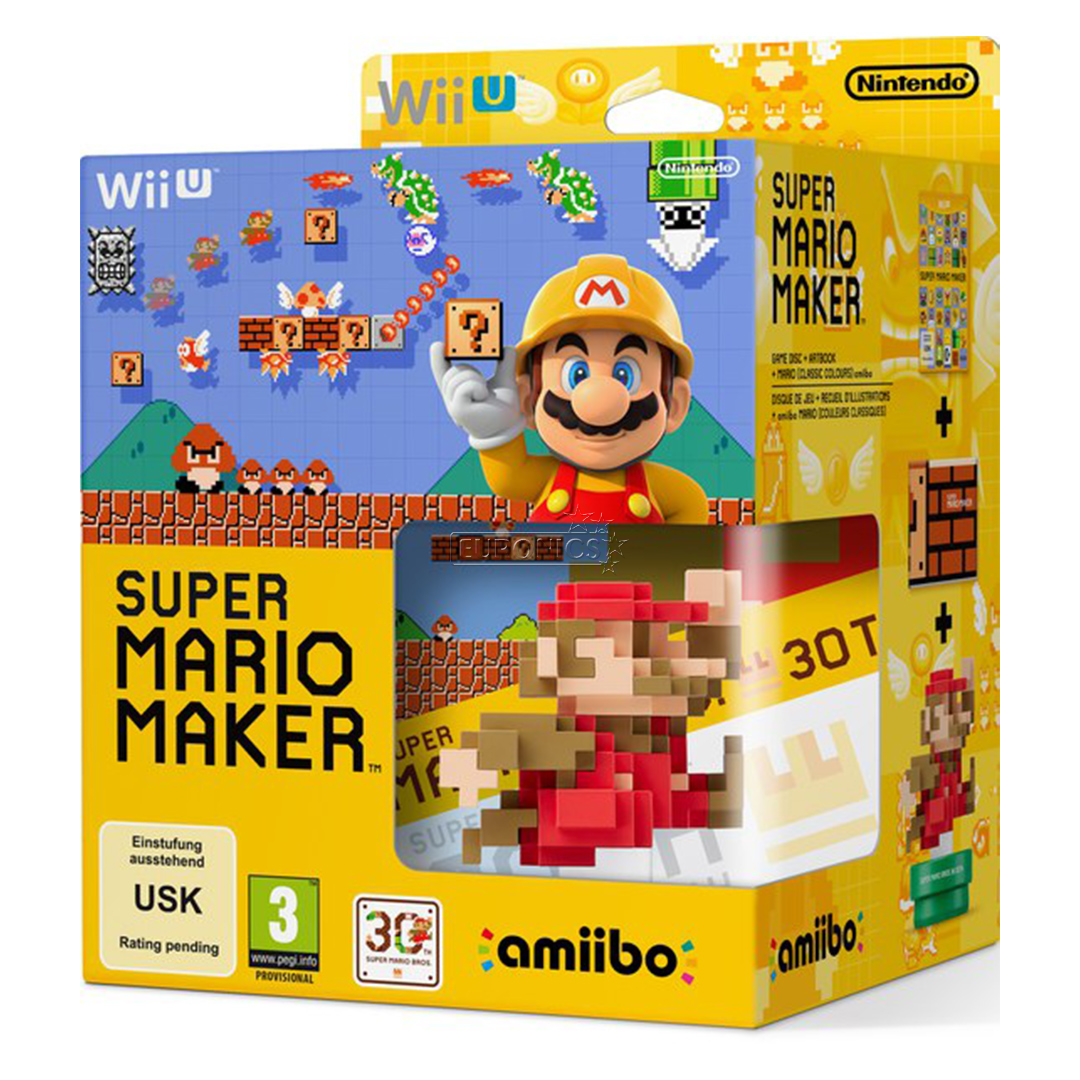 Mario Wii U Games : Wii u game super mario maker amiibo