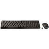 Juhtmevaba klaviatuur + hiir Logitech MK270 (RUS)