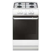 Gas cooker with gas oven, Hansa / 50 cm