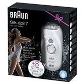 Epilaator + bikiinitrimmer / kosmeetiline pardel Braun