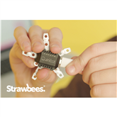Robotic kit Strawbees Quirkbot