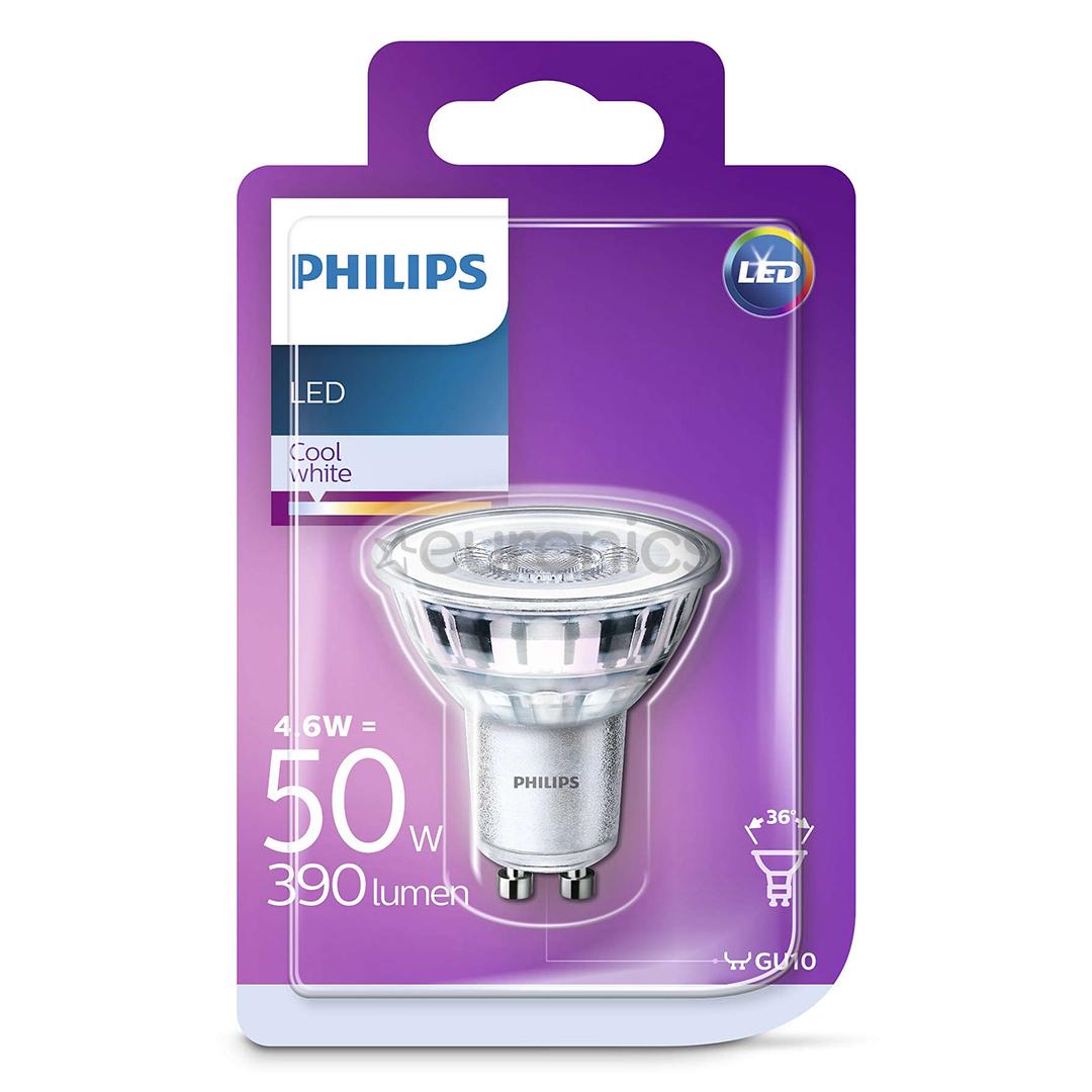 led lamp philips gu10 929001218217. Black Bedroom Furniture Sets. Home Design Ideas