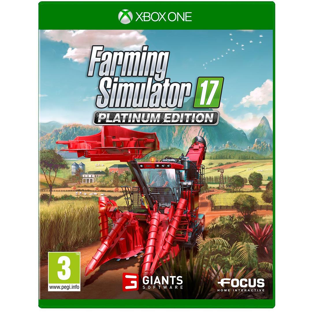 Edition Platinum: Xbox One Game Farming Simulator 17 Platinum Edition