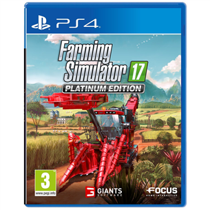 PS4 mäng Farming Simulator 17 Platinum Edition