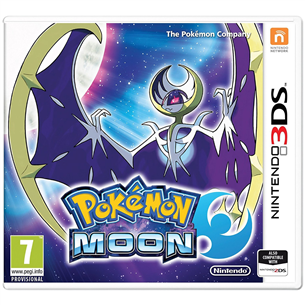 3DS mäng Pokemon Moon