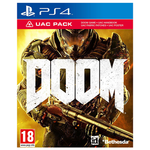 PS4 mäng Doom
